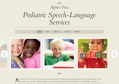 Agnes Fox Speech Therapy
